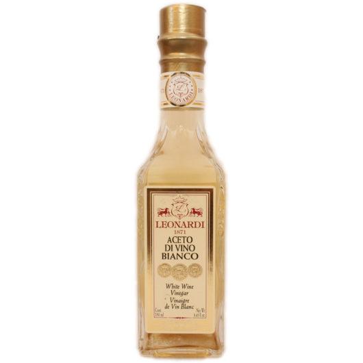 Trebbiano rypäleistä valmistettu 6% viinietikka. Hyvin viinillinen, hapokas valkoviinietikka.