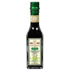 """Luomu Omena Balsamico on valmistettu täusomenamehusta samalla tavoin mehusta kypsyttäen kuin Balsamicotkin. Tämä hieno """"Balsamico"""" on uutuustuote johon kannattaa tutustua."""