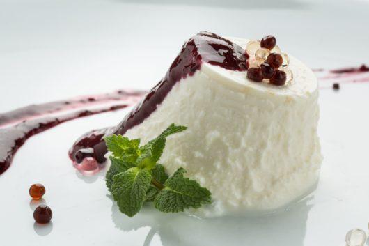 Balsamicohelmet ja juusto