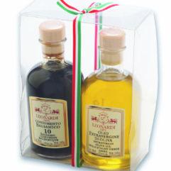 Tuplapakkaus 10v balsamico ja extraneitsyt oliiviÖljy